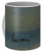 Boats At Night Coffee Mug