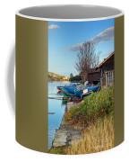 Boats At Rest Coffee Mug