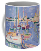 Boats At Royan Coffee Mug
