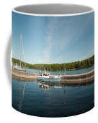 Boats At The Dock Coffee Mug