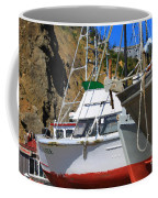 Boats In Drydock Coffee Mug