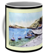 Boats In Spain Coffee Mug