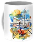Boats In Tavira In Portugal 02 Coffee Mug