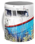 Boats In The Garden Coffee Mug