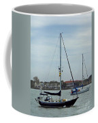 Boats In The Inlet Coffee Mug