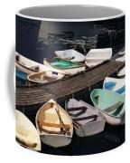Boats In Waiting Coffee Mug