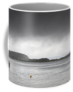 Boats Moored In The Harbor Oban Coffee Mug