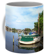 Boats Of Long Beach Island Color Coffee Mug