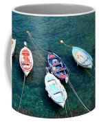 Boats On A Line Coffee Mug