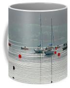 Boats On Carsington Water Coffee Mug