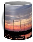 Boats On The Bay Coffee Mug