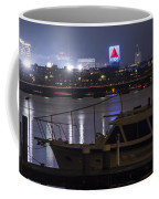 Boats On The Charles River Citgo Sign Boston Massachusetts Coffee Mug