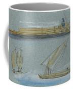 Boats On The Nile Coffee Mug
