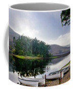 Boats On The Shore. Coffee Mug