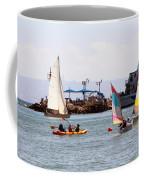 Boats Race Coffee Mug