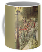 Bob Cratchit Went Down A Slide On Cornhill Coffee Mug