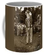 Bob Hope At Pro-am At Pebble Beach California 1953 Coffee Mug