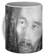 Bob Marley Pencil Portrait Coffee Mug