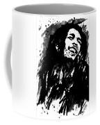 Bob Marley Silhouette   Coffee Mug