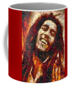 Bob Marley Vegged Out Coffee Mug