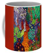 Bobcat Kachina  Coffee Mug