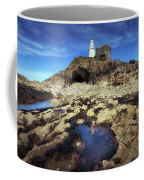Bob's Cave At Mumbles Lighthouse Coffee Mug
