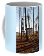 Bodie Island Light Through The Pines Coffee Mug