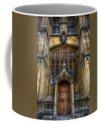 Bodleian Library Door - Oxford Coffee Mug by Yhun Suarez