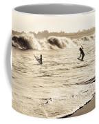 Body Surfing Family Coffee Mug