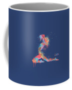 Bodyscape In D Minor - Music Of The Body Coffee Mug