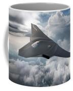 Boeing Next Gen Fighter Concept Coffee Mug
