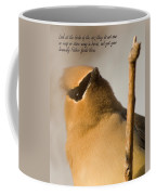 Bohemian Waxwing Coffee Mug