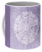 Boho Floral Mandala 1- Art By Linda Woods Coffee Mug