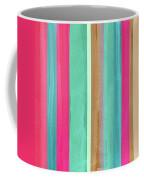 Boho Stripe- Art By Linda Woods Coffee Mug