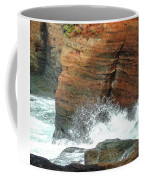 Boiler Bay Waves Coffee Mug