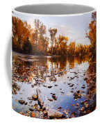 Boise River Autumn Glory Coffee Mug