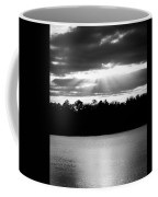 Bold Rays Monochrome Coffee Mug