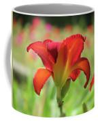 Bold Red - Daylily Coffee Mug