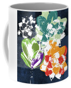 Bold Succulents 1- Art By Linda Woods Coffee Mug by Linda Woods