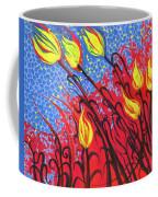 Bold Tulips Coffee Mug