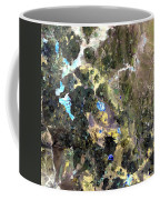 Bolivian Andes From Space Coffee Mug