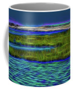 Bolsa Chica Wetlands I Abstract 1 Coffee Mug
