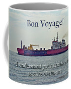 Bon Voyage Greeting Card - Enjoy Your Cruise Coffee Mug