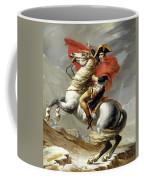 Bonaparte Crossing The Alps Coffee Mug