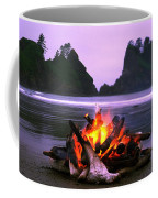 Bonfire On The Beach, Point Of The Coffee Mug