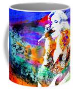 Bonnie Raitt Color Splash Coffee Mug
