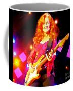Bonnie Raitt In Concert Watercolor Coffee Mug