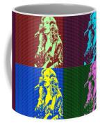 Bonnie Raitt Pop Art Poster Coffee Mug