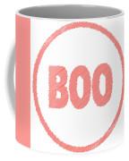 Boo Rubber Stamp Coffee Mug