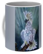 Boo The Umbrella Cockatoo Coffee Mug